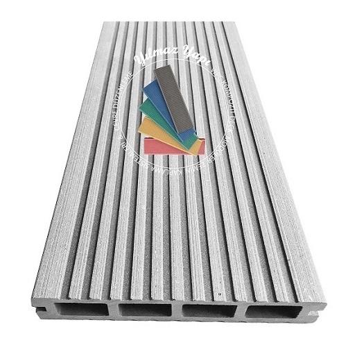 Wood Deck Wpc Kompozit Ahşap Deck Fiyatları Beyaz Gri