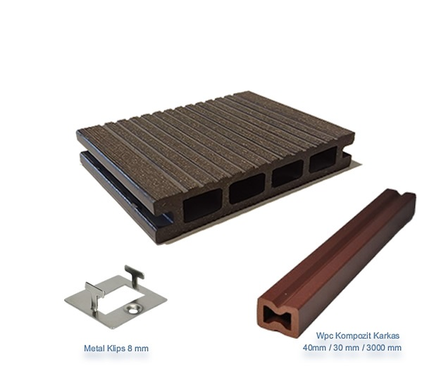 A-PRO Wood Composite Decking